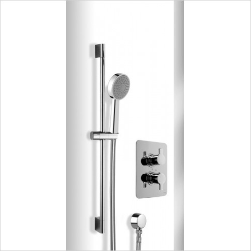 Cifial - Coule Thermostatic Flexi Shower Kit