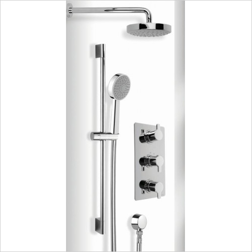 Cifial - Coule 3 Control Thermo Fixed/Flexi Shower Kit
