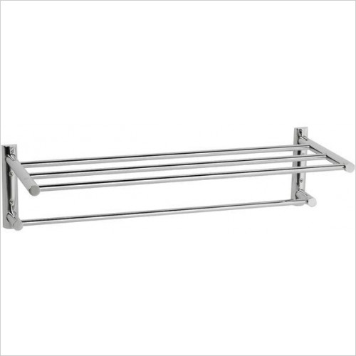 Cifial - Techno Straight 2 Tier Towel Rail