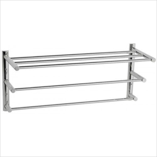 Cifial - Techno Straight 3 Tier Towel Rail