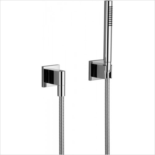 Dornbracht - MEM Hand Shower Set With Individual Rosettes