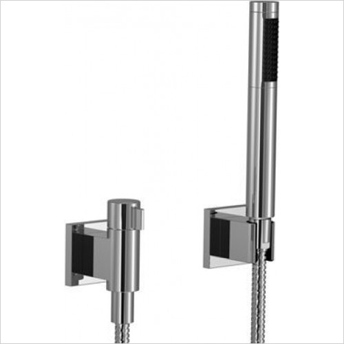 Dornbracht - Symetrics Hand Shower Set With Individual Rosettes & Valve