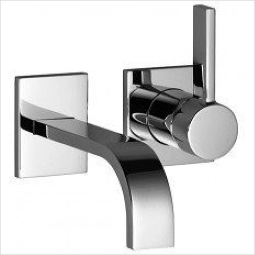 MEM Wall Mounted Single Lever Basin Mixer 200mm Projection