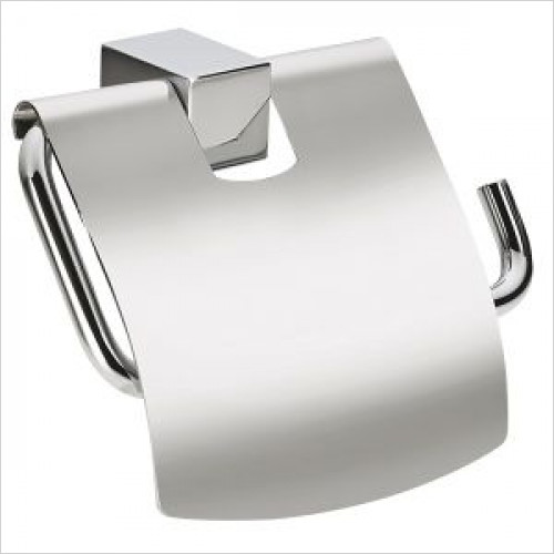 Violek - Square Toilet Roll Holder With Lid