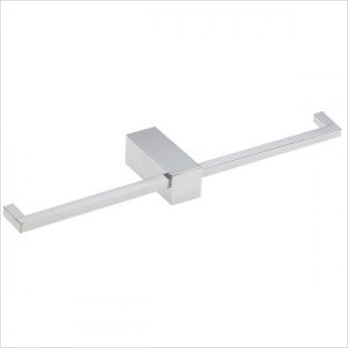 Violek - Square Double Toilet Roll Holder
