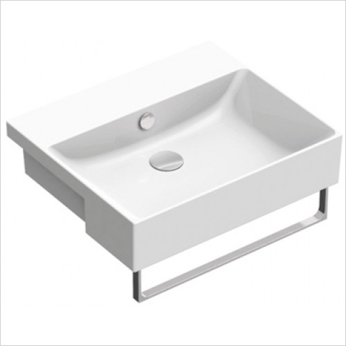 Catalano - New Zero 55 Semi-Inset Basin 1TH 55 x 47cm